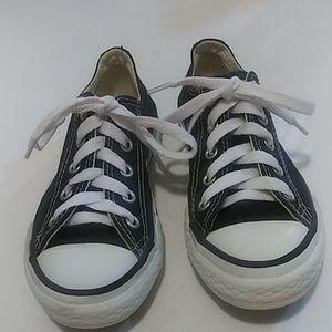 Converse Unisex Sneakers Black Size 11